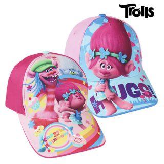 Gorra Infantil Trolls (53 cm) Color Rosa