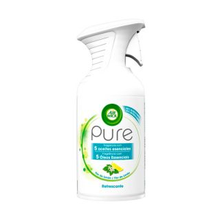 Spray Ambientador Air Wick Pure Essential Oil Refrescante x1